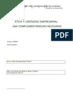 Etica y liderazgo empresarial