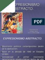 EXPRESIONISMO ABSTRACTO. David Revuelta
