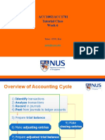 20190919 Tutorial Class 4 Adjusting Accounts and Perparing Financial Statments, Internal Control and Cash