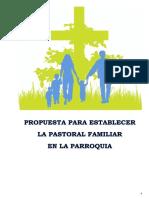 PERFIL DEL AGENTE DE PASTORAL FAMILIAR