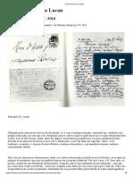 Carta de Freud a Lacan
