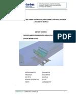 Estudios aeroelastico y dinamico ante cargas peatonales