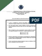 UJC Exame de admissao de Portugues 2011