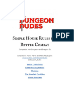 Dungeon Dudes' Five Simple House Rules for Better Combat in D&D 5e
