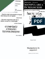 Hassan Souni - Manipularea in Negocieri