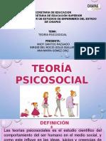 Teorías psicosociales