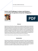 Issues and Challenges in Open and Distance ELearning in the Philippines.pdf