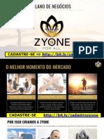 ✅✅ ZyOne for All © PLANO DE APRESENTAÇÃO OFICIAL 2020  PDF ✅LANÇAMENTO ➡️LINK NO SLIDE⬅️  #raoniclaro #zyone #zyoneforall #MMN.pdf