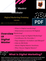 Digital Master - A Digital Marketing Training Institute