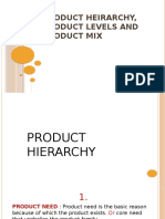 Product Hierarchy, levels and mix.pptx