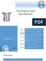 [Slide] Sterilization and Disinfectan