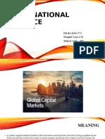INTERNATIONAL FINANCE ppt