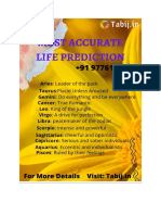 Most Accurate Life Prediction visit Tabij In +91 9776190123