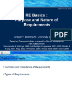 SEG3101-Ch1-1 - Basics - Purpose and Nature of Requirements