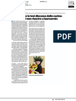 Benedetta e la tesi discussa dalla cucina - Il Cittadino del 21 marzo 2020
