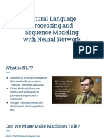 Natural Language Processing with Neural Network_class3
