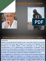 El Beso Azul, Jordi Sierra i Fabra