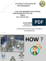 Implementation of plc and scada on pharmacy water treatment