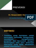 Prevensi (dr. Nasyaruddin Heri Taufik, SpRM)