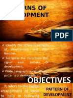 5 patterns of development