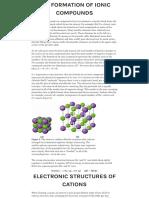 7.1 Ionic Bonding – Chemistry