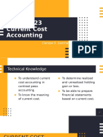 CHAPTER 23- Current Cost Accounting