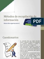 HERRAMIENTAS PARA LA RECOLECCIÓN DE DATOS