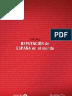 Informe Reputación de España 2010