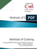 Methods of Cooking- AAAC