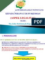 LEGALITAS DELEGAS PERAWAT