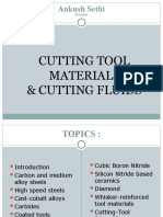 Cutting Tool Materials and Cutting Fluids