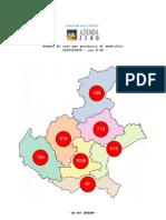 Mappa del contagio Comune per Comune