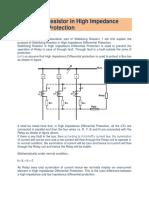 stabizing resistor ngosa