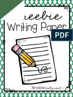 writingpaperfreebie