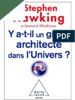 Y a-t-il un grand architecte dans l'univers - Stephen Hawking.pdf