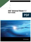 SAS Universal Viewer 1.1 User's Guide