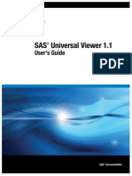 SAS Universal Viewer 1.1 User's Guide