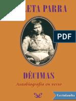 Decimas Autobiografia en Verso - Violeta Parra.pdf