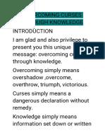 Overcoming curses through knowledge.pdf
