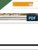 [PDF] Trinity Guitar Grade 1