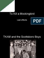 To Kill a Mockingbird and the Scottsboro Boys