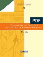 IBGE indice de empresas 2015