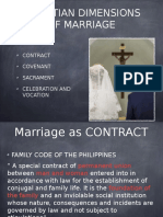 Lesson 1 Christian Dimensions of Marriage ppt