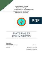 Trabajo sobre materiales polimericos