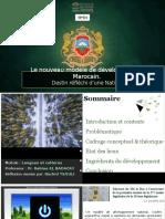 Le nouveau modèle de développement Marocain _ rachid TSOULI.pptx