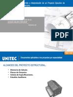 Desarrollo e Interpretación de un Proyecto Ejecutivo Estructural