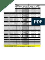 Lista de Precios Meravella 14 esq 46 Julio 2018