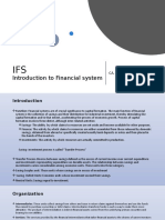 IFS-Introduction to Financial system