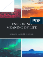 Exploring Meaning of Life_Salman Ahmed Shaikh