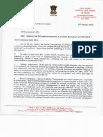 MCA Advisory March 2020